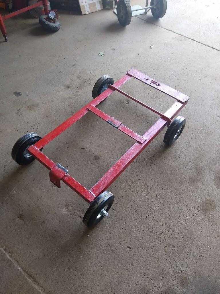 "PIETECH V.1, P. 3: PIE 4.3 has a Brand-New Cart, 1st ""On-Wheels"" Test"
